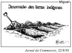 Demarcação das terras indígenas