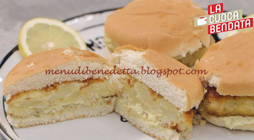 La Cuoca Bendata - Fish Burger ricetta Parodi