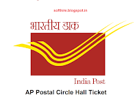 AP Postal Circle Hall Ticket