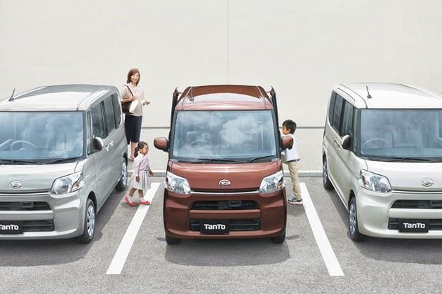 Leopaul's Blog: Third-generation Daihatsu Tanto And Tanto