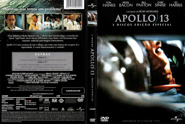 Capa DVD Apollo 13 - Do Desastre ao Triunfo