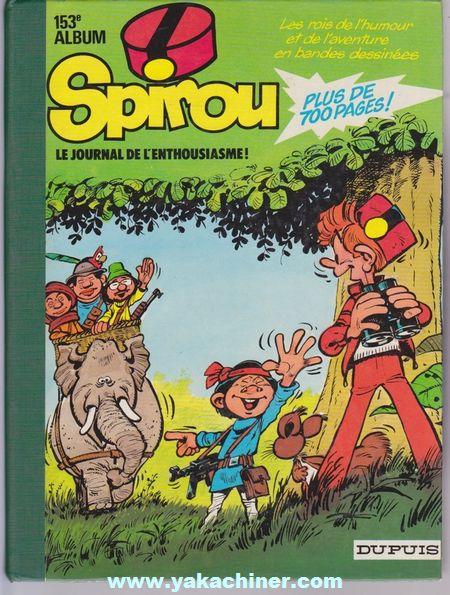 Recueil Spirou 153