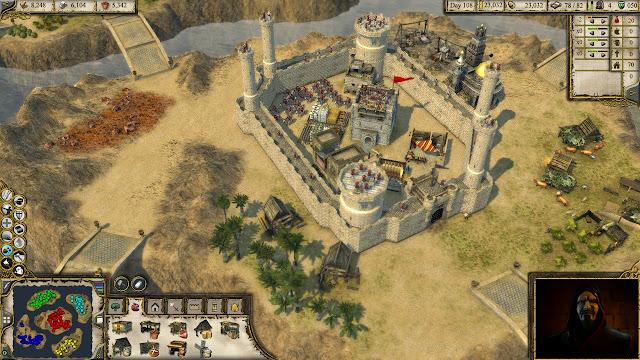 تحميل لعبة صلاح الدين stronghold 3 للكمبيوتر