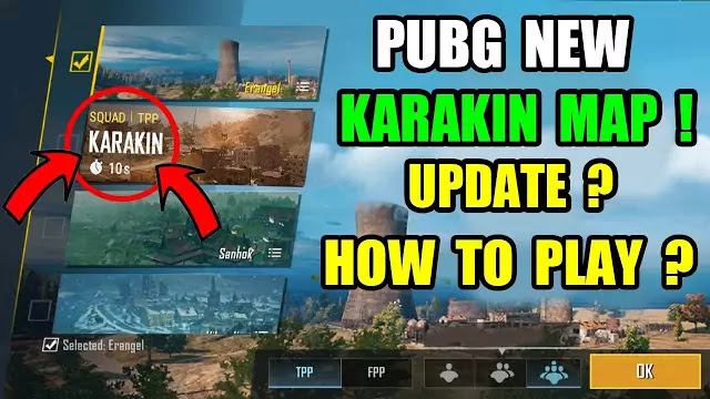 PUBG Mobile New Karakin Map
