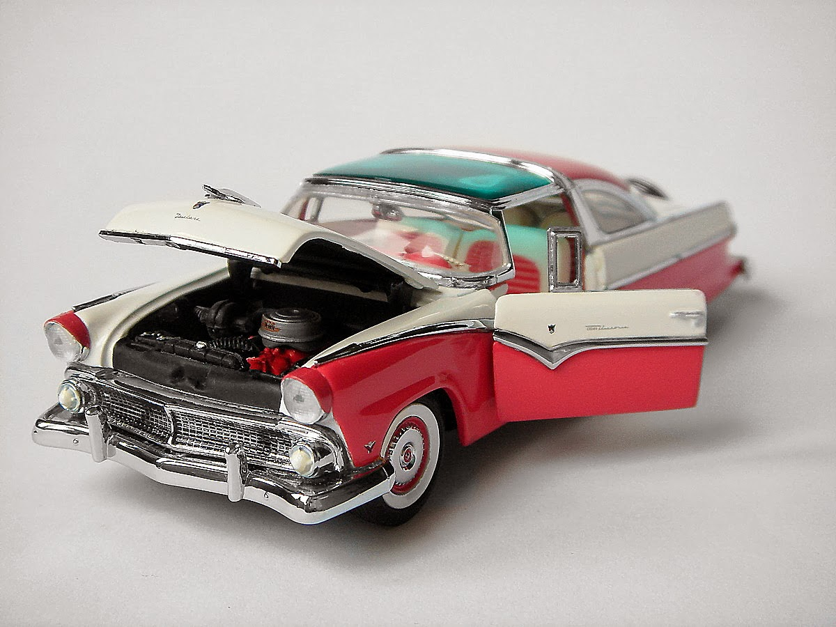 American Icons 143 Collection 1955 Ford Crown Victoria Skyliner By 1949 Franklin Mint
