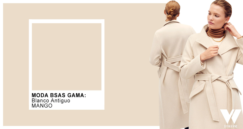Colores de moda de tapados otoño invierno 2021