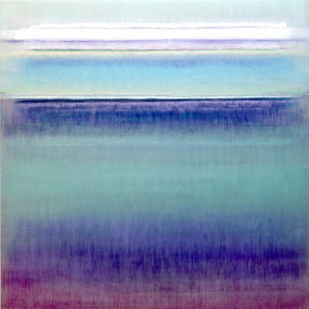 "Bruno Kurz, ""Nordic Blue"" | obras de arte abstracto contemporaneo, pinturas abstractas, imagenes | art selecta pictures inspiration"