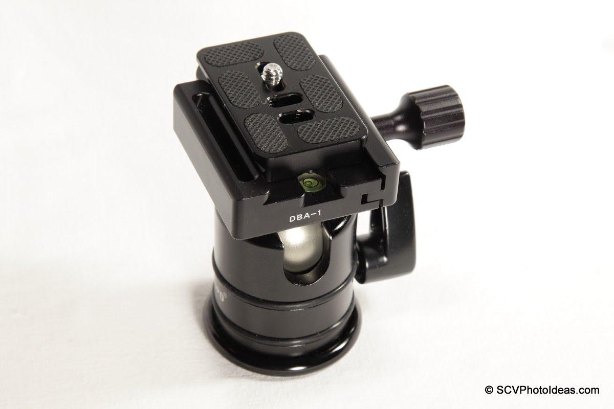Desmond DBA-1 + Triopo RS-3 ball head w/ offset Arca plate
