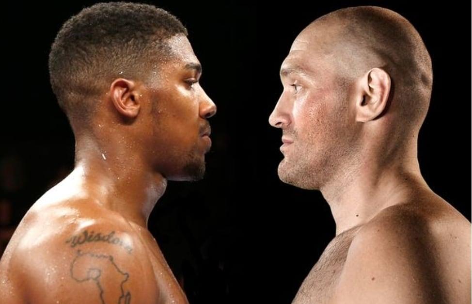 Anthony Joshua set to battle Tyson Fury after reaching 2 fight agreement |  Manfabulous Blog
