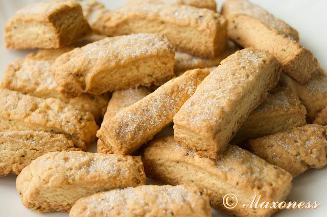Песочное печенье с розмарином от Гордона Рамзи