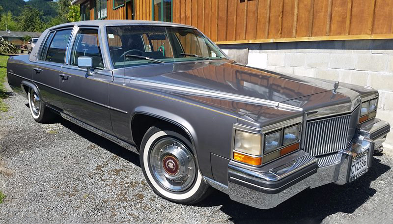 transpress nz: 1980 Cadillac Fleetwood Brougham