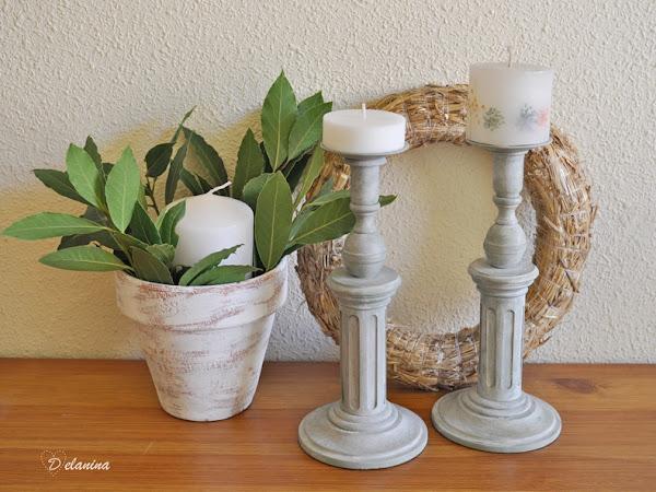 DIY: Cómo reciclar un viejo candelabro