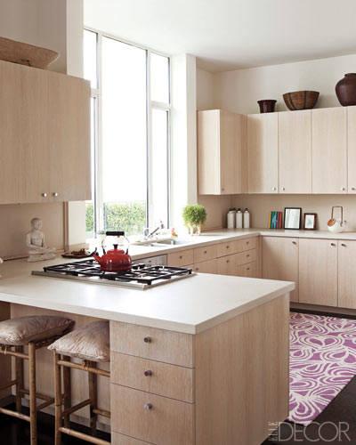 Elle Decor Kitchens: Daly Designs: Celebrity Kitchens