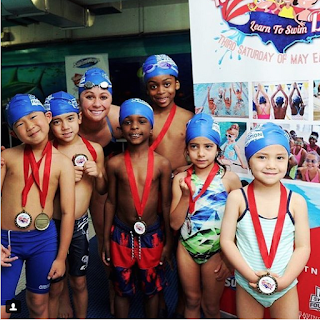 3x Olympic swimmer Elizabeth Beisel supporting National Learn to Swim Day
