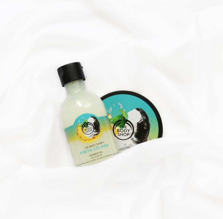 Ulubione kosmetyki 2016 roku - Pielęgnacja - The Body Shop Pinita Colada Masło do ciała