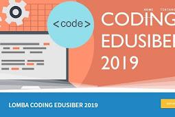 Lomba Coding Edusiber 2019 PUSTEKKOM KEMENDIKBUD Untuk Guru dan Siswa SMA/SMK