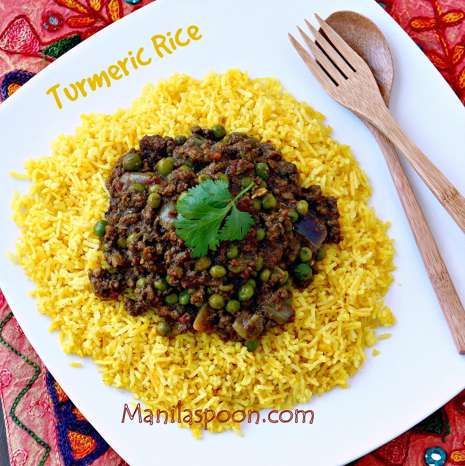Turmeric (Yellow) Rice