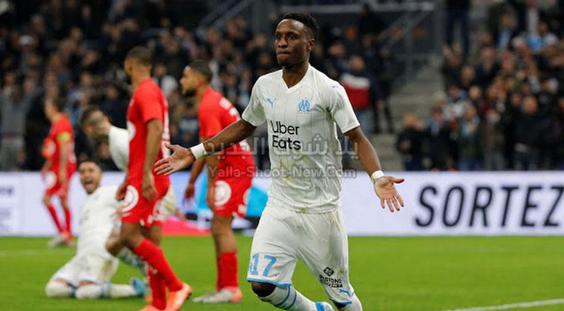 مارسيليا يحقق فوز هامه على فريق بريست من الجولة الخامسه عشر من الدوري الفرنسي