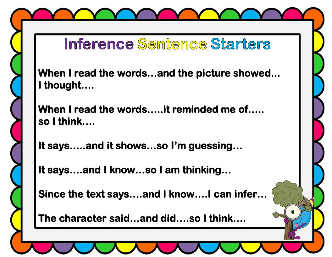 Inferencing And A Freebie