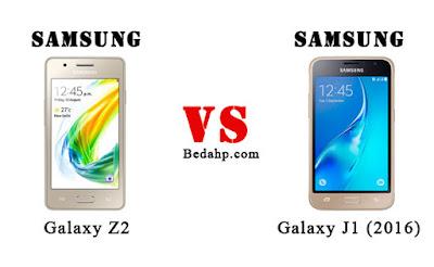 Samsung Galaxy Z2 VS Samsung J1 (2016)