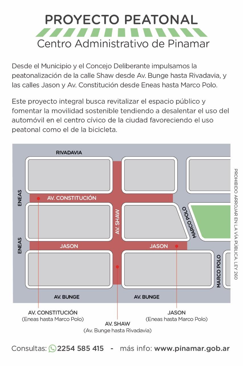 Proyecto Peatonal