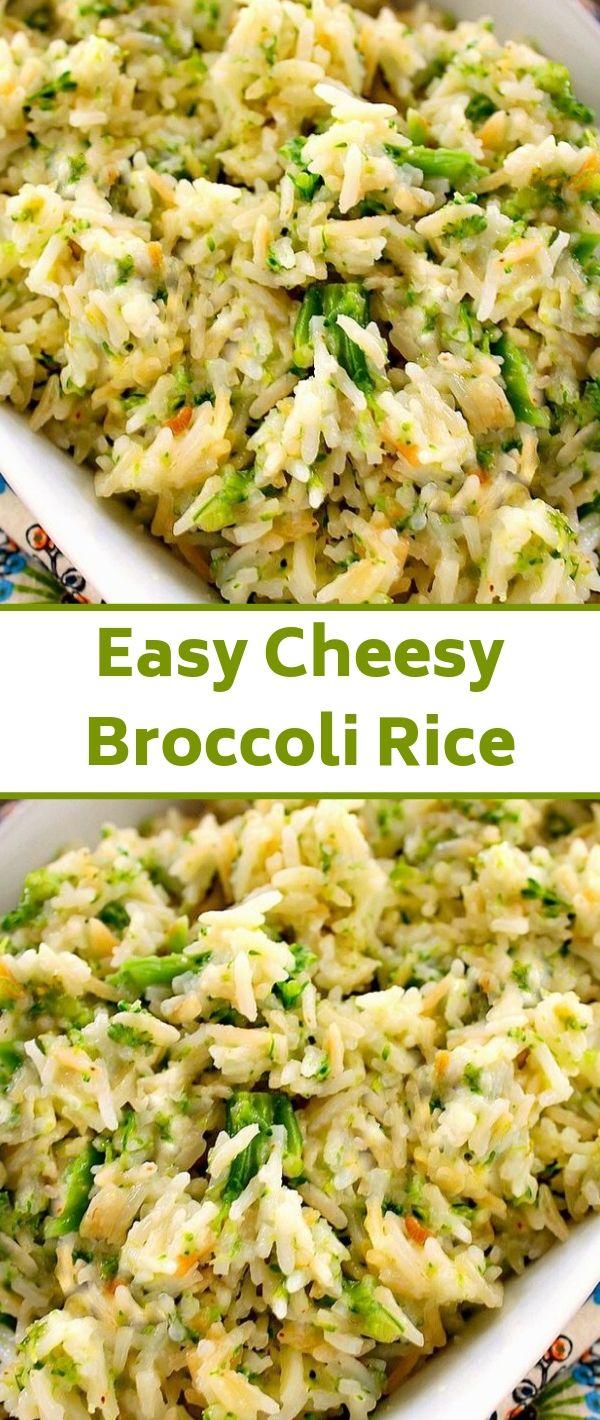 Easy Cheesy Broccoli Rice #Easy #Cheesy #Broccoli #Rice Healthy Recipes Easy, Healthy Recipes Dinner, Healthy Recipes Best, Healthy Recipes On A Budget, Healthy Recipes Clean, Healthy Recipes Breakfast,