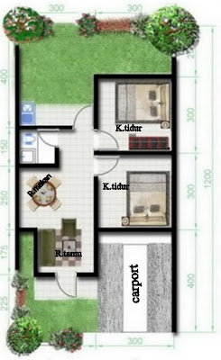 Minimalis Type Dengan Kamar Tidur Desain Unik Minimalis & gambar rumah minimalis tipe 36/72