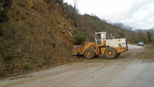 Γιάννενα: Άμεση παρέμβαση και αποκατάσταση των κατολισθήσεων-καταπτώσεων στο οδικό δίκτυο του Δήμου Ζίτσας