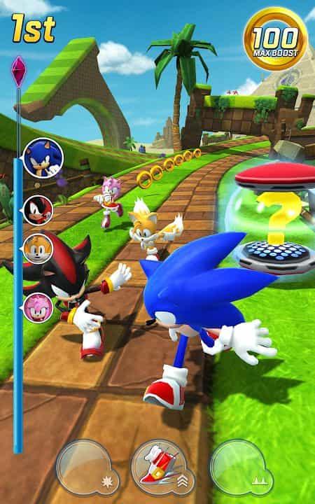 Sonic Forces v3.6.0 MOD, Speed/God Mode - Game phưu lưu cho điện thoại