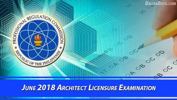 Architect June 2018 Board Exam