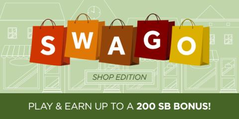 Image: Swagbucks is a website that rewards you with points (called SB) for completing everyday online activities. You can redeem those SB for free gift cards.