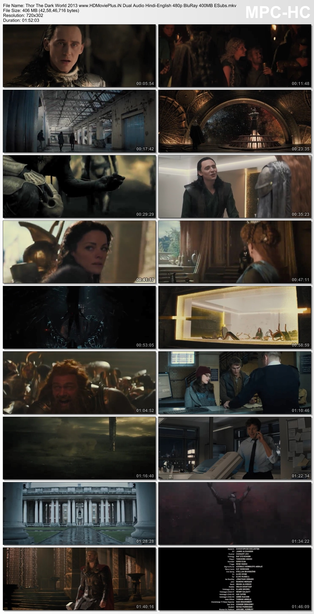 Thor: The Dark World 2013 Dual Audio