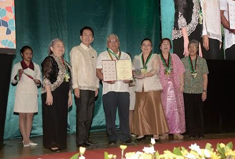 UP NISMED Staff Honored at the Parangal sa mga Retirado