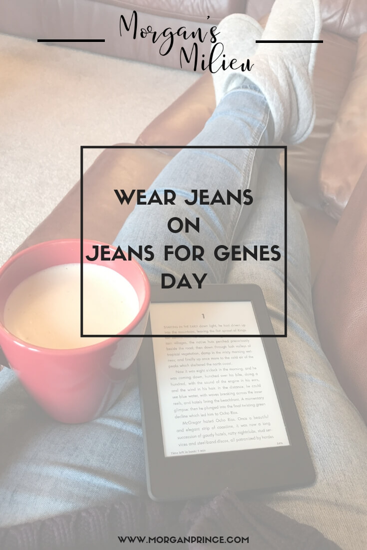 Will you be wearing your jeans on 21st September for Jeans for Genes Day?