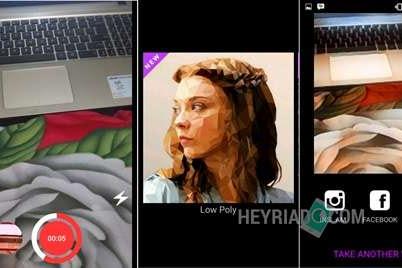 Cara Edit Video Dengan Dampak Filter Lukisan Di Android