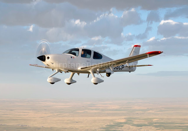 Cirrus Perception special mission aircraft