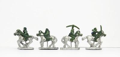 Horse archers x 4: