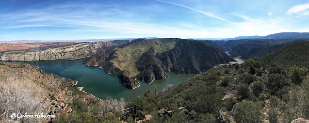 Camping & Exploring at Flaming Gorge National Rec Area, Dowd Mountain Overlook