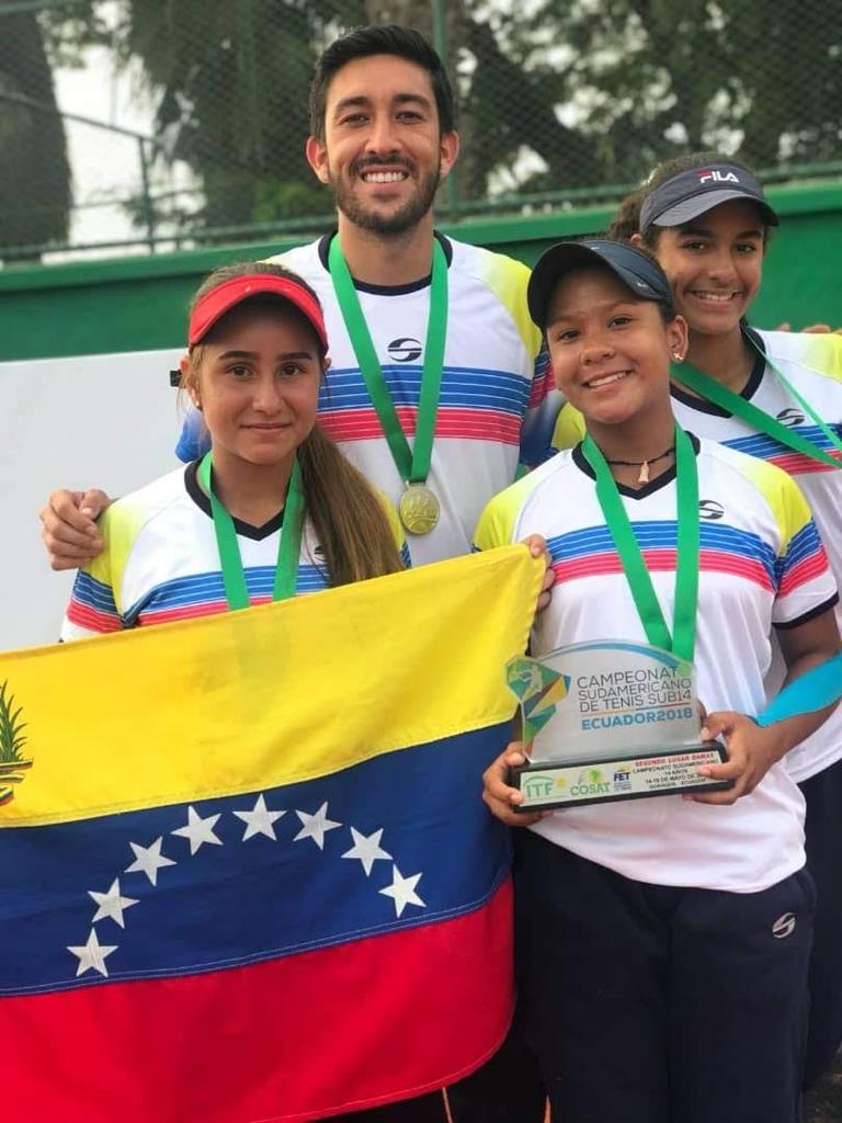 TENIS: Luis Jaimes sueña con capitanear a la selección venezolana en la Copa Davis y en Grand Slams.