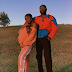 Singer, Simi showcases her growing baby bump in new loved-up photo with husband Adekunle Gold.