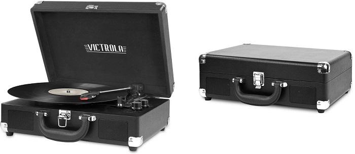 Victrola – Portable Vintage Bluetooth Turntable