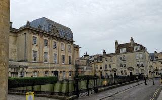 Centro histórico de Bath.