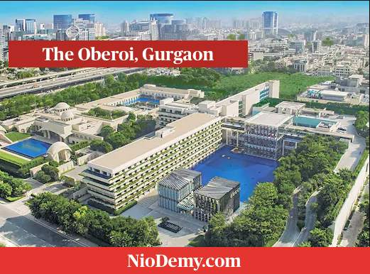 Most Expensive Luxury Hotels In India - The Oberoi, Gurgaon