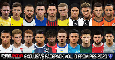 PES 2019 Exclusive Facepack Vol. 10 by Sofyan Andri