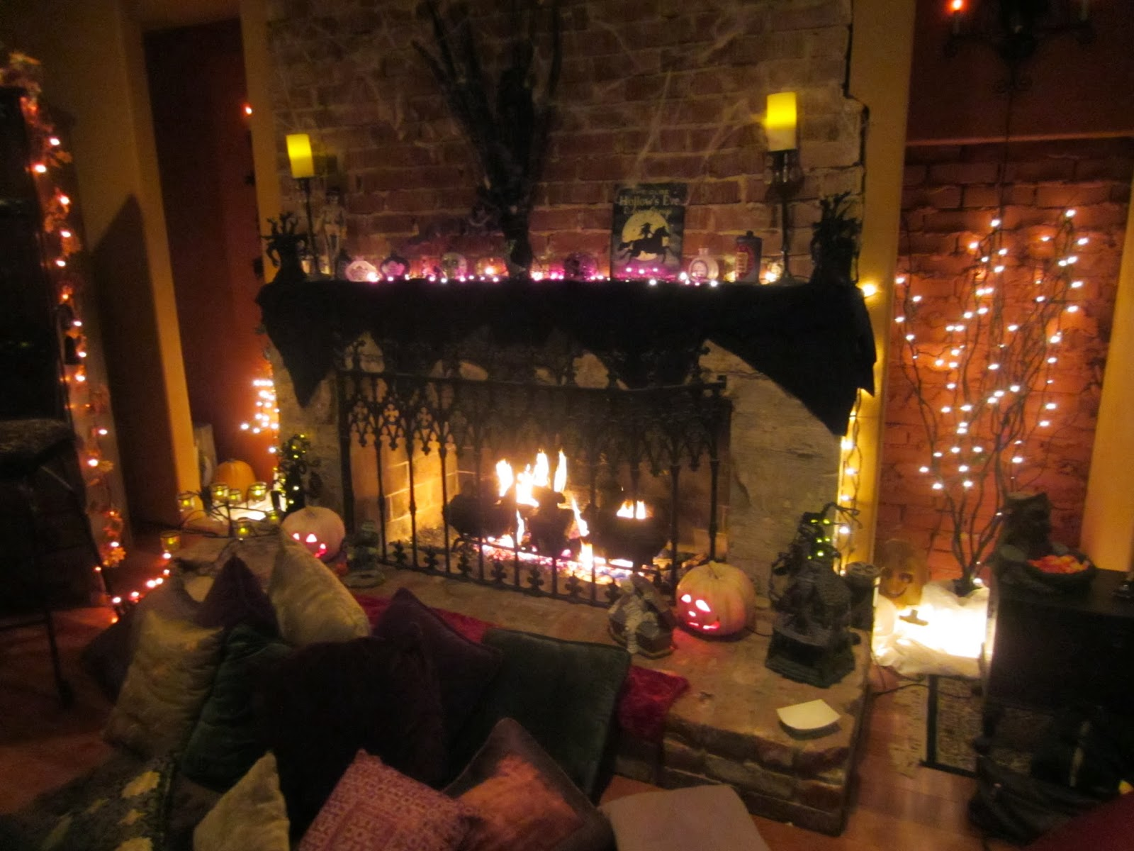 Halloween Home Design Ideas: Hd Wallpapers Blog: Halloween Party Decorating Ideas