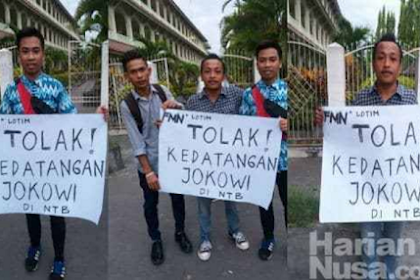 Kata Siapa Warga NTB Akan Dukung Jokowi?