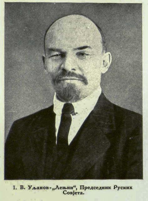 V. Uljanov-Lenin, President of the Russian Soviets