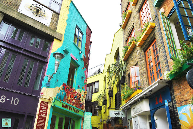 Neal's Yard en Londres