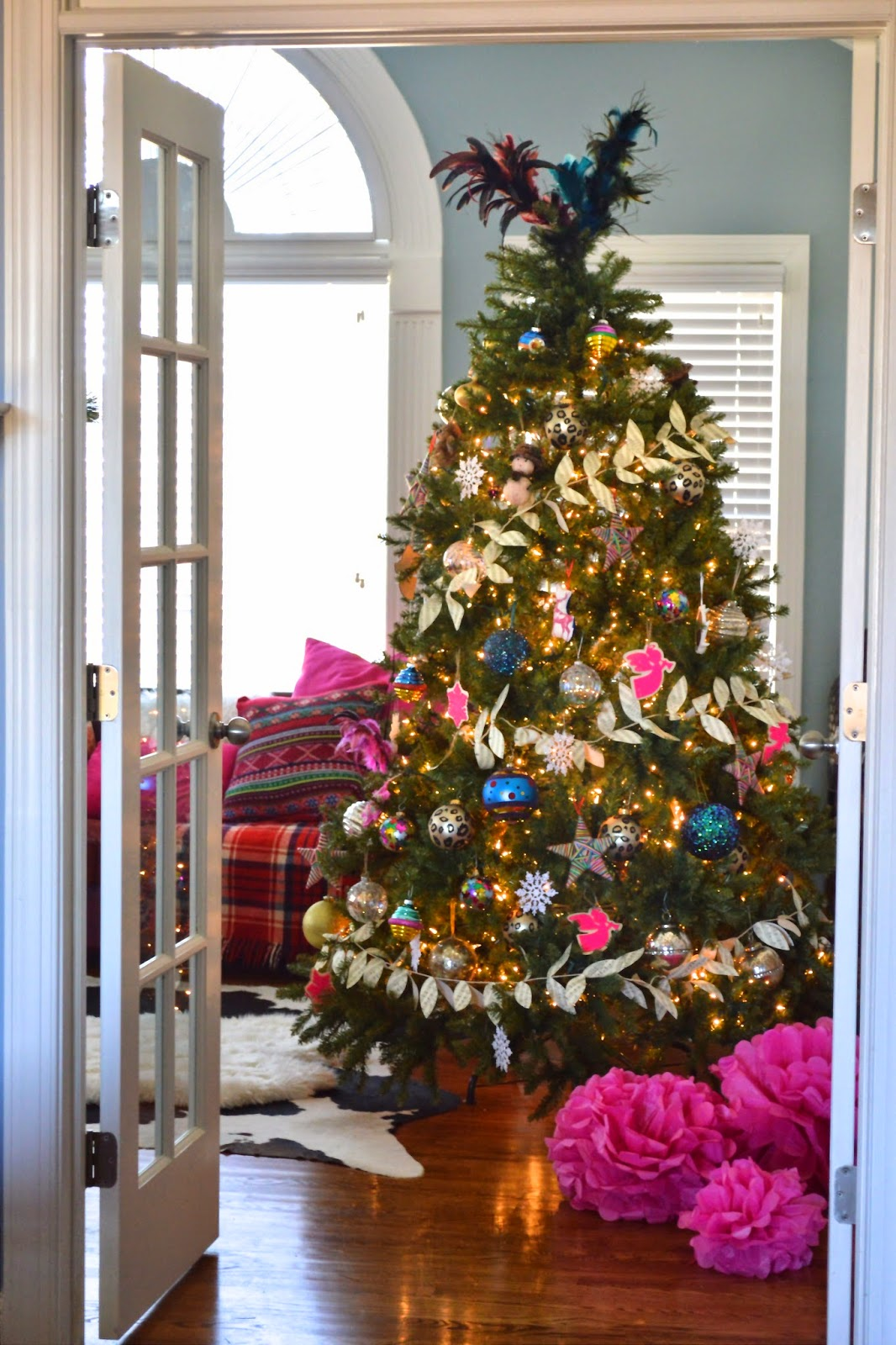 Fun and Colorful Christmas Tree