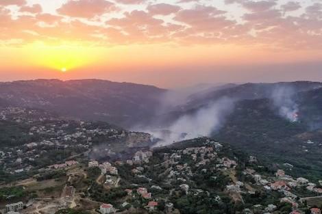 فرق الإطفاء تخمد حرائق ضخمة بسوريا ولبنان